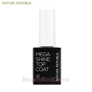 NATURE REPUBLIC Sunny Gel Nail Mega Shine Top Coat 8.5ml [2018]